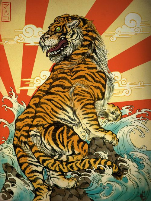 Japanese Art ~ I would love to know more about this particular poster. http://www.tumblr.com/blog/mytimeatthearmywarcollege