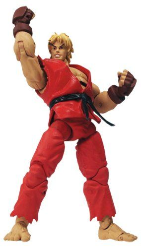 Street Fighter - Action Figure Best Of Series: Ken @ niftywarehouse.com #NiftyWarehouse #StreetFighter #VideoGames #Gaming