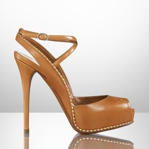 Ralph Lauren #designer #shoes #heels #sandals  53% OFF!