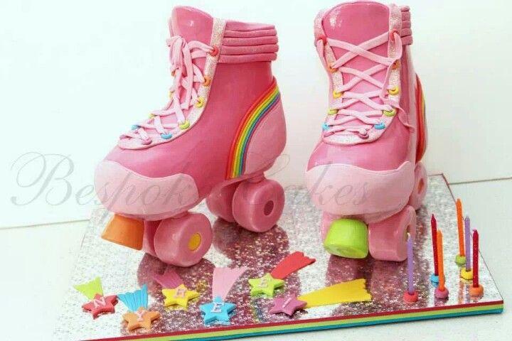 Roller Skates Cake.