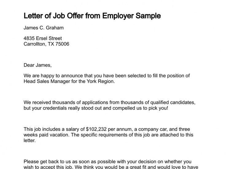 sample resume job promotion proposal template