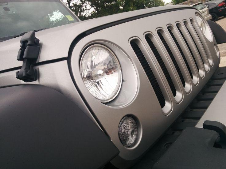 Colour Change | Vehicle Colour Change | Full Wrap | Full Vehicle wrap | Jeep | Jeep Colour Change | Brushed Metal Vehicle | Side Effects Graphics | Milton Graphics  Company | Toronto Graphics Company