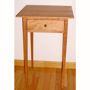 This End Table Is Made With Traditional Dovetail And Mortise And