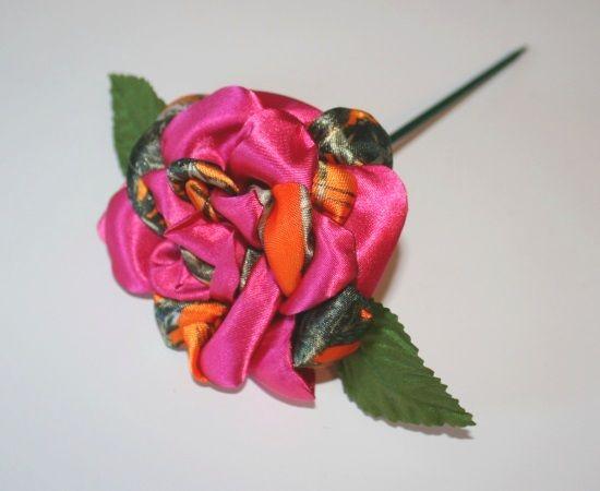 Orange Camo and Pink Rose - Orange Camo Wedding - Orange and Pink Wedding
