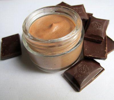 Как сделать шоколадный мусс для тела