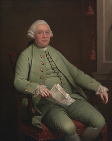 unknown artist, 18th century, British, A Man Called William Strahan, ca. 1765, Oil on canvas, Yale Center for British Art, Paul Mellon Collection