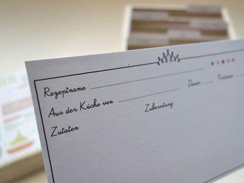 Geschenktipp Die Schone Rezepte Box Rezeptkarten Rezeptbuch Tipps