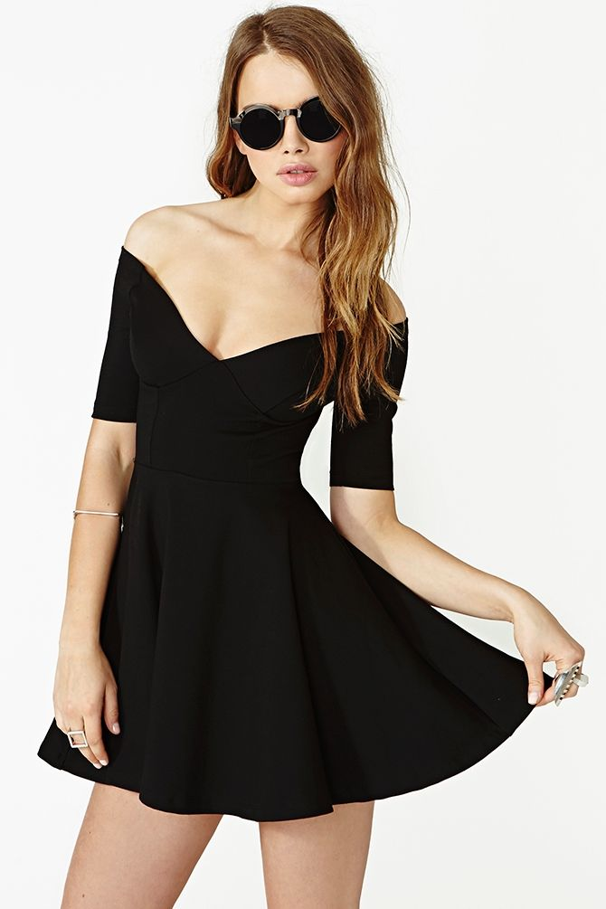 Hot Ticket Skater Dress