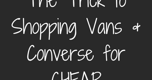 Sale! Shop Vans, Converse, and more at up to 70% off. Click to install the FREE app now! | Clothing | Pinterest | Shop Vans, Banners and Converse