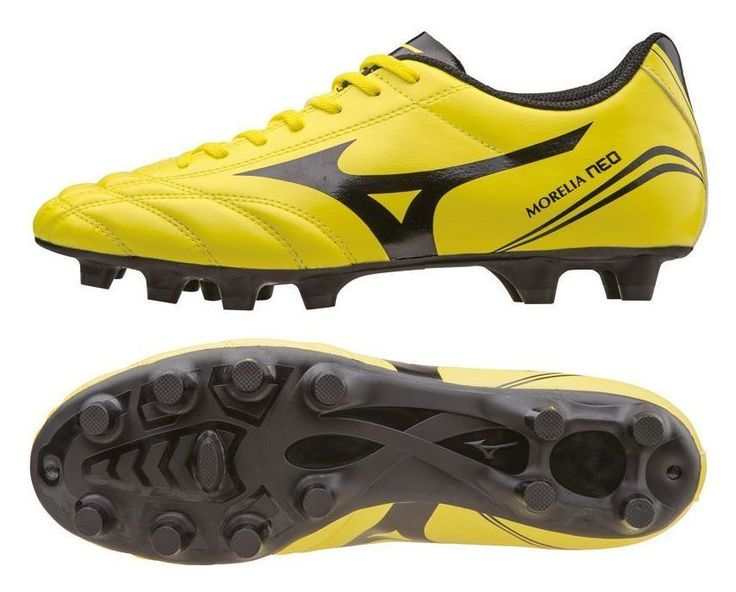 Mizuno Morelia Neo CL Moulded Mens Football Boots Soccer Cleats Firm Ground  #Mizuno