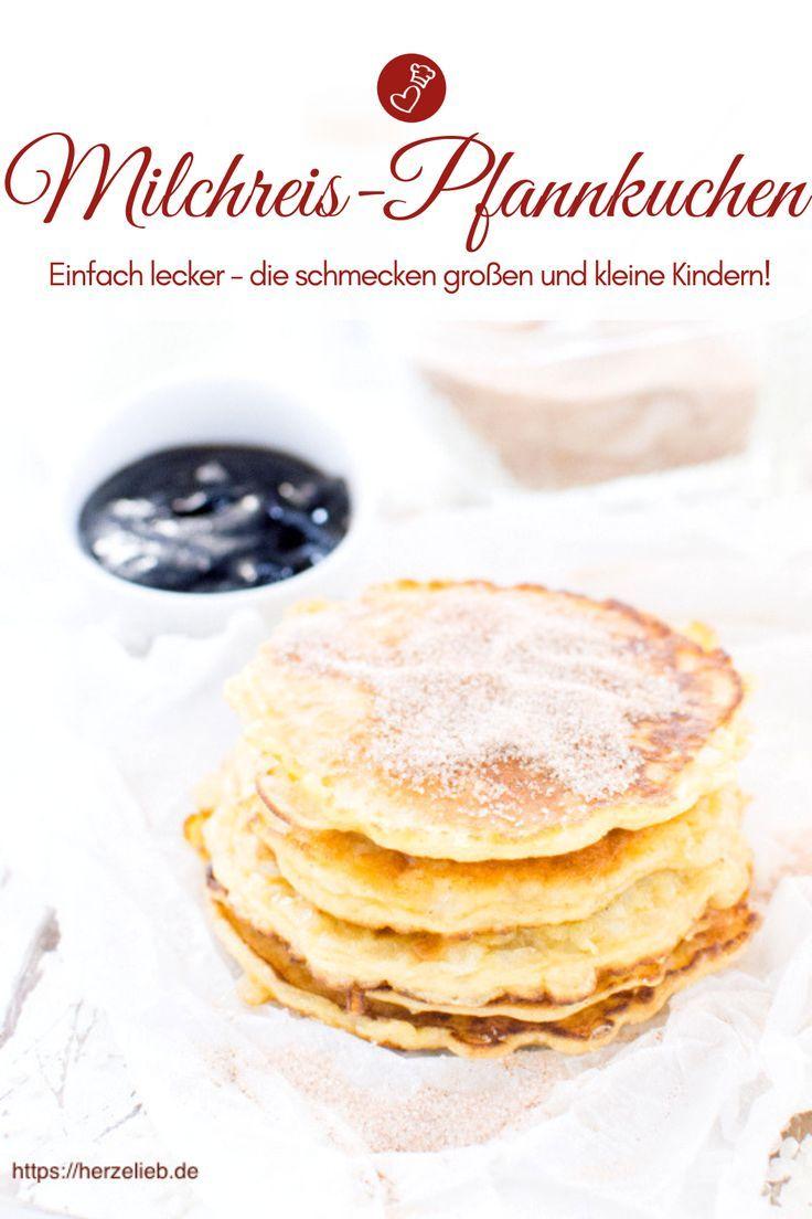 Rezept für Milchreis-Pfannkuchen