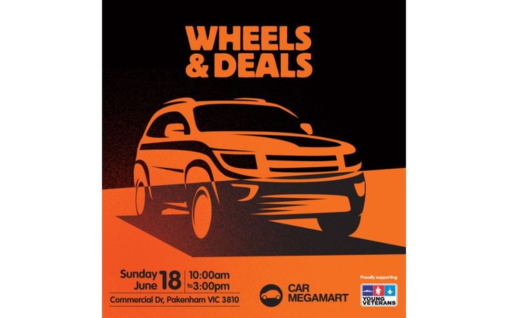 AUTO MARKET, SWAP MEET & FAMILY FUN DAY!  Come on down to Car Megamart on the 18th of June to chat with a range of local auto vendors, browse through the 'Graham & Pearl Rose Events' swap meet stalls and heaps of fun activities for the whole family!  Visit: http://www.onlymelbourne.com.au/m/641894/wheels-deals for more details  #WheelsandDeals #Carmegamart #proyager #productdesign #whatsonmelbourne #onlymelbourne #melbourne