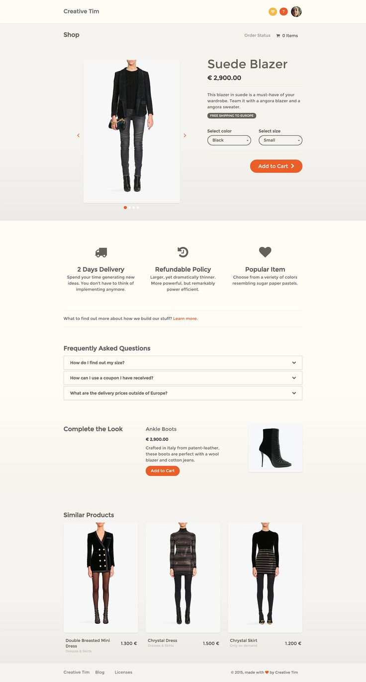 Screencapture demos creative tim com paper kit pro examples product page html 1450034099249 copy