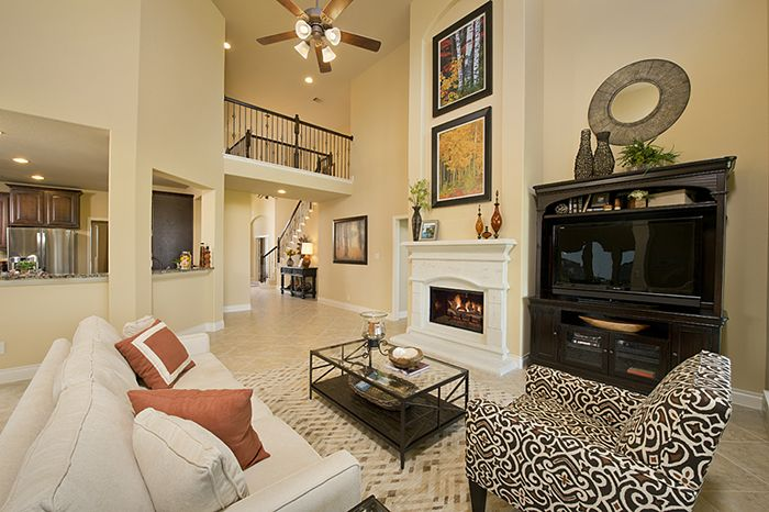 Perry Homes Firethorne Model Home Design 4198w In Katy