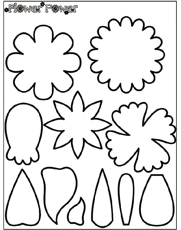 give projects a fabulous flower flair with the flower power stencils use our flower shapes