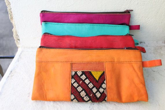 SALELeather purse  leather clutch evening bag woman's