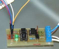 WARNING: Some people try to build this with an optocoupler with zerocrossing coz 'that is better' right? Some are even told in electronics shops it is better to use such an optocoupler. WRONG. This will only work with a random fire optocoupler: NOT igniting at zerocrossing is the principle of this dimmer.Switching an AC load with an Arduino is rather simpel: either a mechanical relay or a solid state relay with an optically isolated Triac. (I say Arduino, but if you use an 8051 or…
