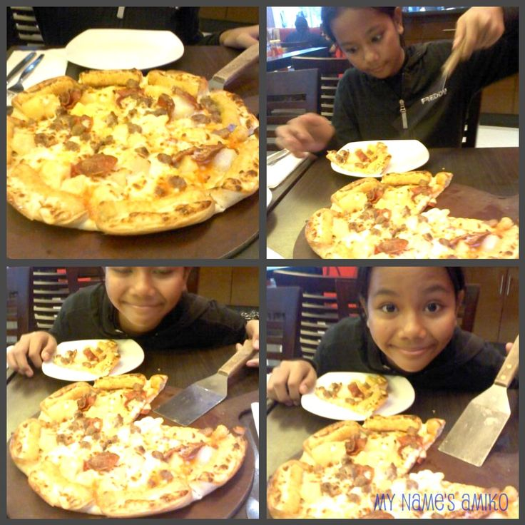 enjoy the pizza~