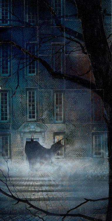Dave Mckean-Arkham Asylum