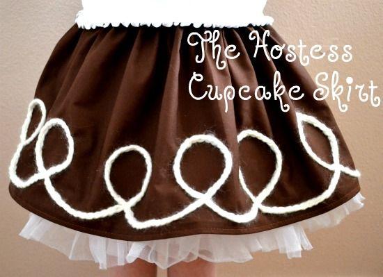 The Hostess Cupcake Skirt—-$5 Friday Style