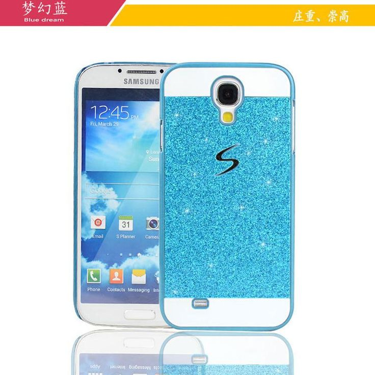 cheap case to phone for samsung galaxy s4 i9500 mobile case by bling sparkling glitter cover for sumsung galaxy s4 s 4