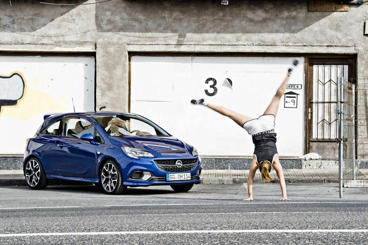 FITNESS IST SEXY // Opel Corsa OPC x adidas Originals by  Toni Passig for Heldth
