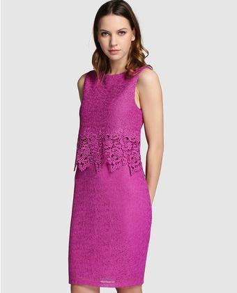 Modelos de vestidos para dama en blonda
