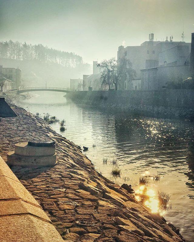 Dobré ráno z Třebíče  Good morning from #Trebic   20180415 7:45 #iPhone7 & #Snapseed #morava #czechrepublic #unesco #jewishtown