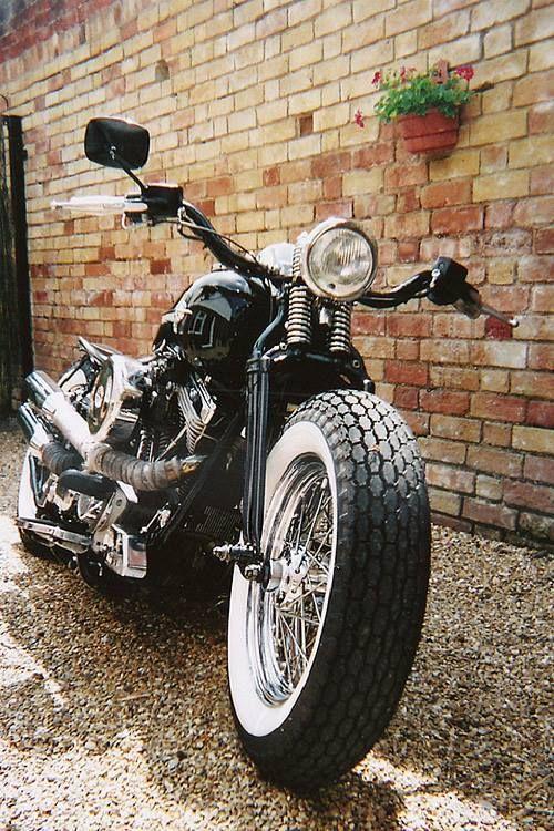 Harley | Bobber Inspiration - Bobbers and Custom Motorcycles | saltadkaramell November 2014