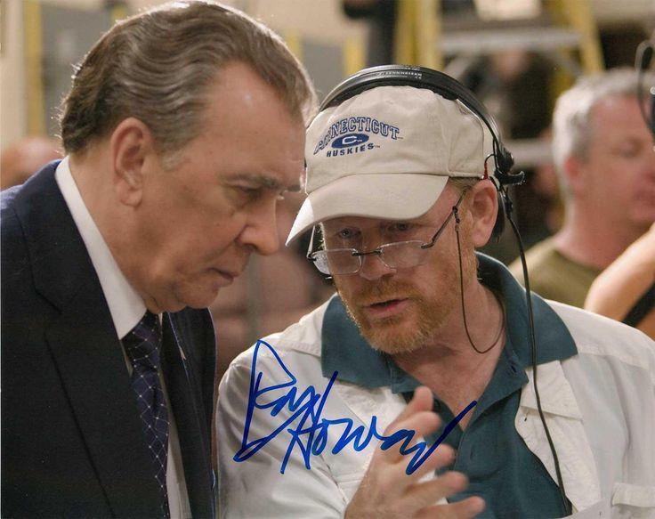 Autographed 8x10 Picture Ron Howard Actor Filmmaker Happy Days Da Vinci Code COA