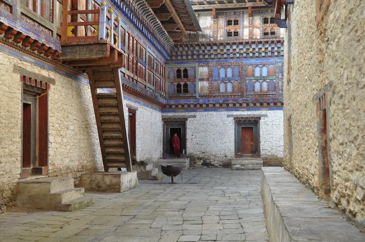 Old royal palace, Bumthang, Bhutan.