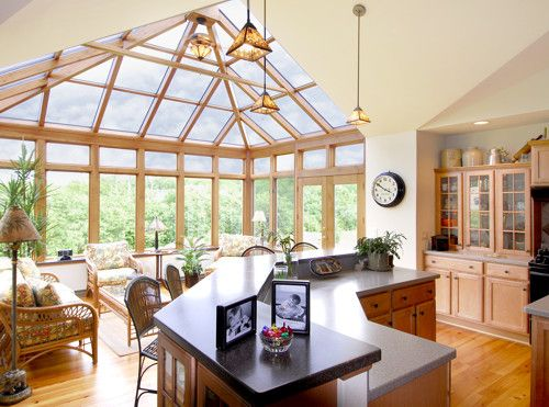 30 best images about conservatories on pinterest sunroom for Sunroom breakfast nook