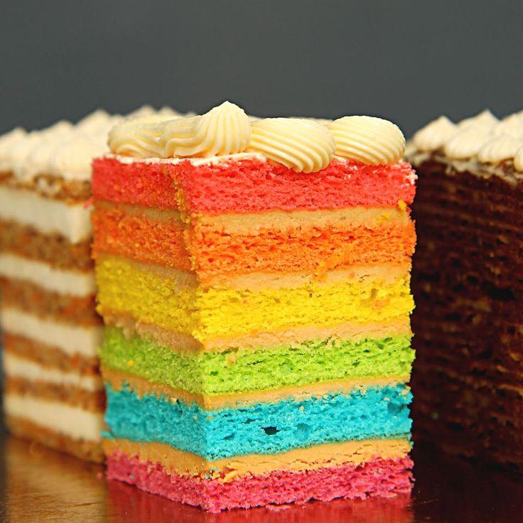 даже картинки радужная начинка для торта всегда легко