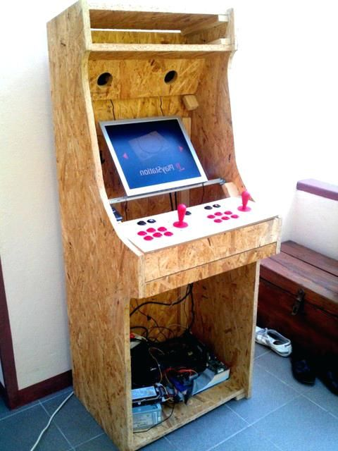 Diy Arcade Cabinet Plans Build Mini Arcade Cabinet Plans Arcade Cabinet Kit Plans Diy Bartop Arcade Cabinet Plans | arcade | Pinterest | Arcade & Diy Arcade Cabinet Plans Build Mini Arcade Cabinet Plans Arcade ...