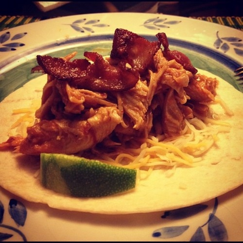 chipotle braised chicken taco | Recipes!!! | Pinterest