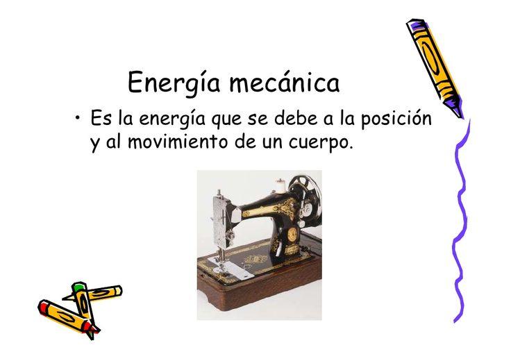 Resultado de imagen para energia mecanica