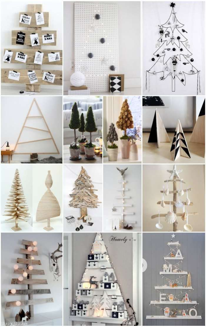 Netradiční vánoční stromky, aneb když stromek není zelený a jehličnatý | Bydlení pro každého