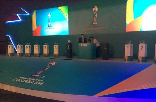 Футзал. Украина стартует на ЧМ-2016 матчем против Бразилии