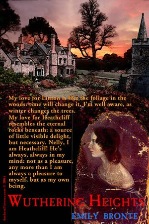 Describe Emily Bronte's style (diction, syntax and tone) in Wuthering Heights.