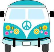 Resultado de imagem para kombi hippie desenho