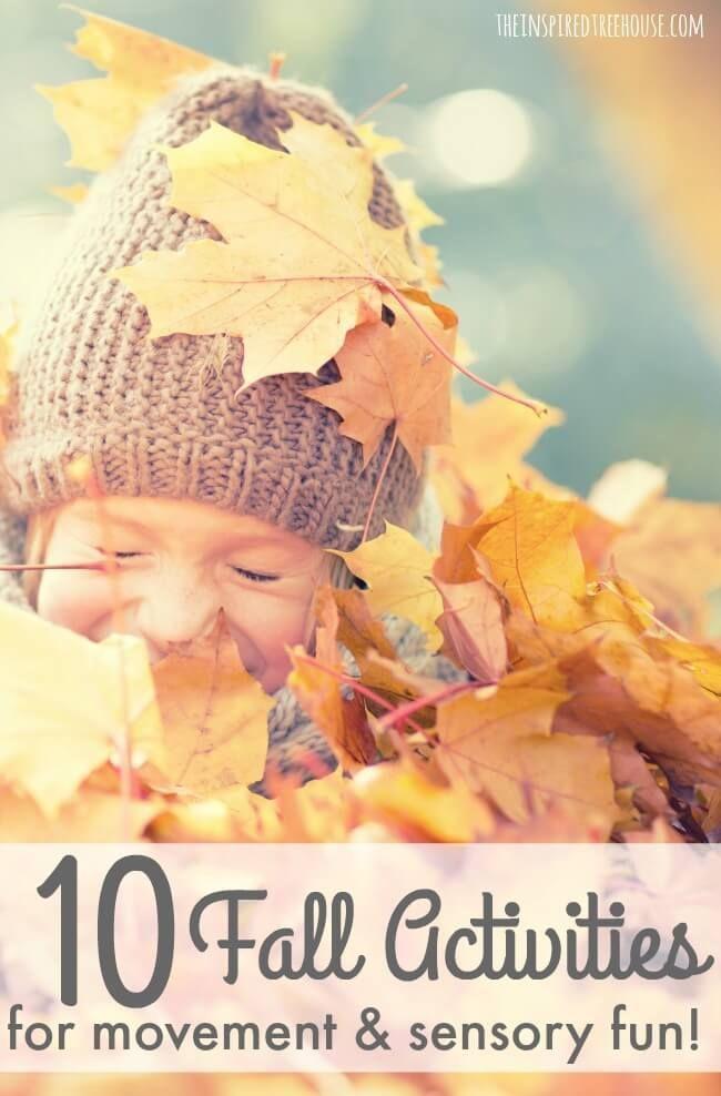 Backyard Treehouse Pediatric Therapy : Fall activities for kids, Activities for kids and Great falls on