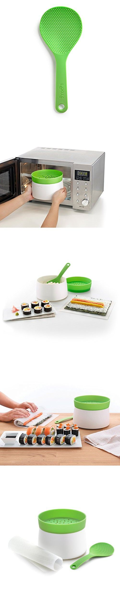 Lekue Kit Sushi Rice Microwave Steamer Maker 3427
