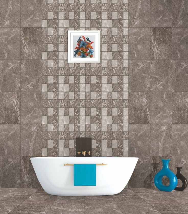 Damita Hl Digital Tile With Highlighters For Bathroom Bathroom Tiles Pinterest Bathroom