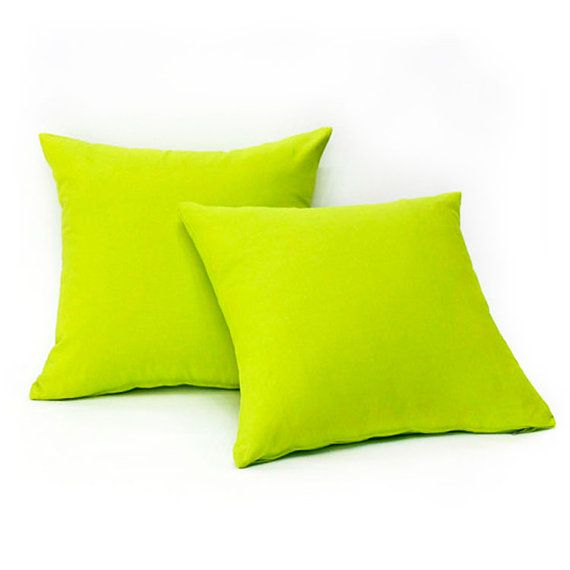 Throw Pillow Lime Green : Pillow covers, Limes and Throw pillow covers on Pinterest