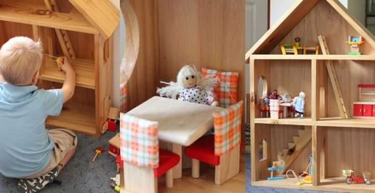 Why I picked this doll house for my children.