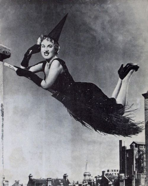 hermione gingold vintage halloween - Vintage Halloween Witches
