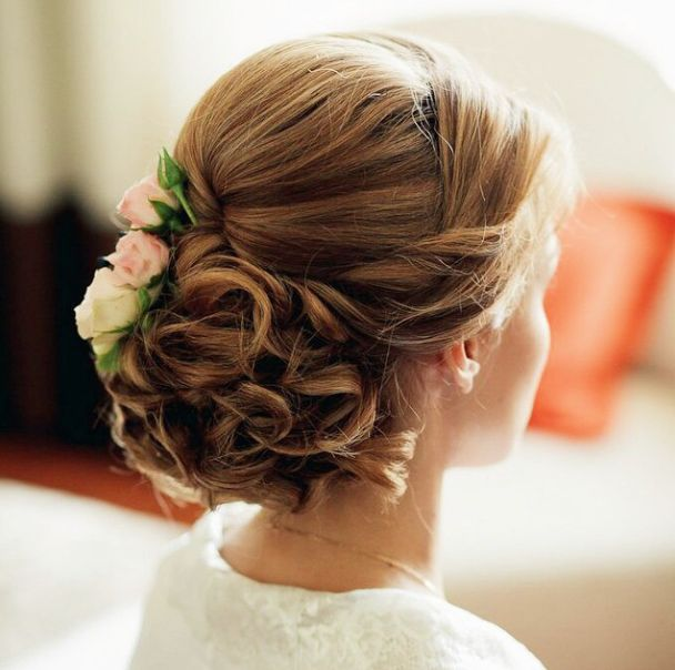 You Are Going To Squeal Over These 34 Stunning Wedding Hairstyles: http://www.modwedding.com/2014/10/23/going-squeal-34-stunning-wedding-hairstyles/ #wedding #weddings #hairstyle Featured Wedding Hairstyle: elstile