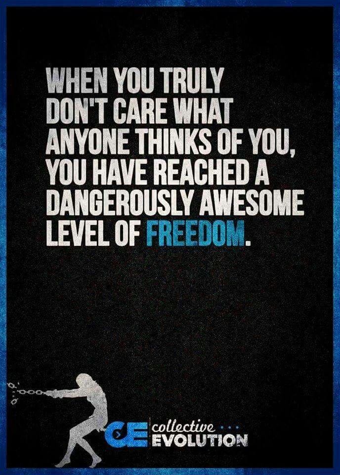 Elegant A Dangerous Level Of Freedom
