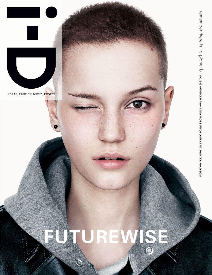 """découvrez le nouveau numéro d'i-D """"the futurewise issue""""   read   i-D"""