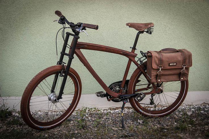 rat rod steampunk bike trekking touren cruiser rosteffekt lack